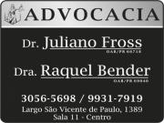 JULIANO FROSS Dr. Advocacia