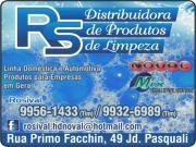 Anuncio - RS PRODUTOS DE LIMPEZA<BR>DISTRIBUIDORA NOVAL