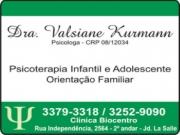 CLÍNICA DE PSICOLOGIA<BR>DRA. VALSIANE KURMANN
