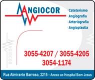 CLÍNICA ANGIOCOR HEMODINÂMICA / CARDIOLOGISTA