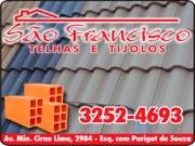SÃO FRANCISCO TELHAS E TIJOLOS