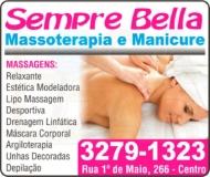 SEMPRE BELLA MASSOTERAPIA E MANICURE