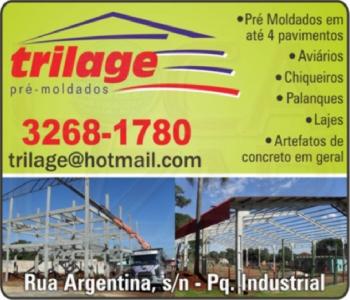 TRILAGE PRÉ-MOLDADOS / ARTEFATOS DE CIMENTO