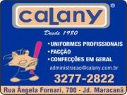 CALANY CONFECÇÕES UNIFORMES