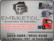 EMBRETOL RECUPERADORA DE EMBREAGENS