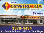 CONSTRU&CIA FERRAGENS RIO PARDO<BR>MATERIAIS DE CONSTRUÇÃO