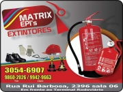 Cartão: MATRIX  EXTINTORES E EPI