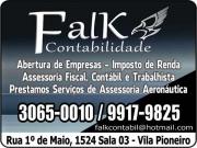 Cartão: FALK ESCRITÓRIO CONTÁBIL CONTABILIDADE