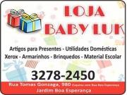 Cartão: BABY LUK LOJA E PAPELARIA