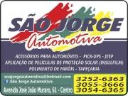 Cartão: SÃO JORGE AUTOMOTIVA ACESSÓRIOS AUTOMOTIVOS