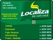Cartão: LOCALIZA VEÍCULOS LOCADORA