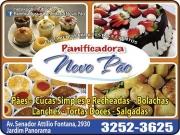 Cartão: NOVO PÃO PANIFICADORA E CONFEITARIA