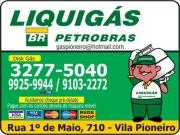 Cartão: PIONEIRO GÁS LIQUIGÁS