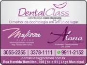 Cartão: MELISSA RIBEIRO CAMPOS Dra. Cirurgiã Dentista / Implantodontia<br>ALANA DAL