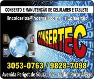CONSERTEC CELULARES E TABLETS