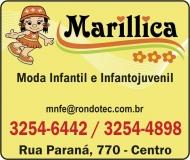 MARILLICA MODA INFANTIL E INFANTOJUVENIL LOJA