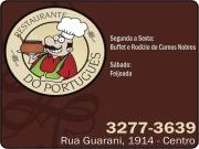Cartão: PORTUGUÊS RESTAURANTE DO PORTUGUÊS