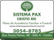 Cartão: SISTEMA PAX CRISTO REI PLANO DE ASSISTÊNCIA FAMILIAR E FUNERAL