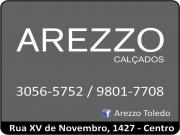 Cartão: AREZZO CALÇADOS