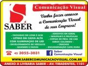 Cartão: SABER COMUNICAÇÃO VISUAL