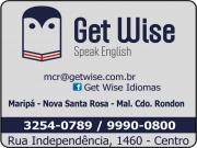 Cartão: GET WISE ESCOLA DE IDIOMAS