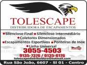 Cartão: TOLESCAPE DISTRIBUIDORA DE ESCAPAMENTOS