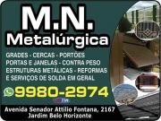 Cartão: MN METALURGICA E ESTRUTURAS METALICAS