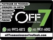 Cartão: OFF 7 COMUNICAÇÃO VISUAL