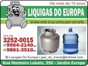 Cartão: DISK GÁS E ÁGUA MINERAL LIQUIGAS DO EUROPA