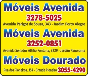 AVENIDA MÓVEIS<BR>DOURADO MÓVEIS
