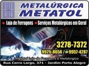 Cartão: METATOL METALÚRGICA E LOJA DE FERRAGENS