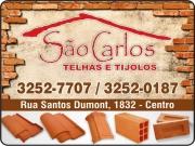 Cartão: SÃO CARLOS TELHAS E TIJOLOS