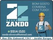 Cartão: ZANDO GESSO