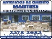 Cartão: MARTINS ARTEFATOS DE CIMENTO