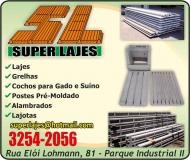 SUPER LAJES ARTEFATOS DE CIMENTO