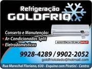 Cartão: GOLDFRIO REFRIGERAÇÃO E AR-CONDICIONADO