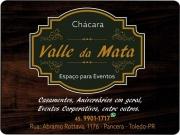 Cartão: CHÁCARA VALLE DA MATA EVENTOS