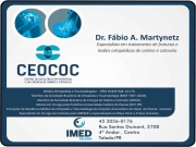 Cartão: CLÍNICA DE ORTOPEDIA E TRAUMATOLOGIA DR. FABIO MARTYNETZ