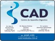 Cartão: CLINICA CAD CENTRO DO APARELHO DISGESTIVO  ALAN P BOMBONATTO DR.  LUCIANO OLTRAMARI SPONCHIADO DR. MARCOS VINICIUS ZANCHET DR.