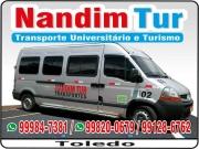 Cartão: NANDIM TUR TRANSPORTE UNIVERSITÁRIO E TURISMO