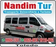 NANDIM TUR TRANSPORTE UNIVERSITÁRIO E TURISMO