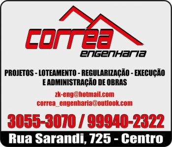 CORRÊA ENGENHARIA CIVIL