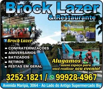 BROCK LAZER E RESTAURANTE