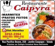 CAIPYRA RESTAURANTE, LANCHONETE E MARMITEX