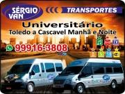 Cartão: SERGIO VAN TRANSPORTES
