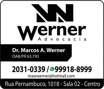 ADVOCACIA MARCOS ANDRE WERNER