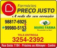 PREÇO JUSTO FARMÁCIA MARKI FARMA
