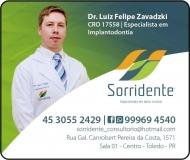 SORRIDENTE CLÍNICA ODONTOLÓGICA Odontologia / Cirurgião Dentista