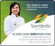 SORRIDENTE CLÍNICA ODONTOLÓGICA Odontologia / Cirurgiã Dentista