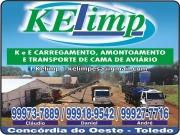 Cartão: KELIMP LIMPEZA DE CAMA DE AVIÁRIO
